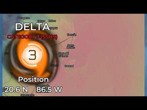 Hurricane Delta about