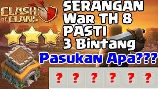 vuclip Cara 3 Bintang Dalam Clan War TH 8 - Clash Of Clans Indonesia