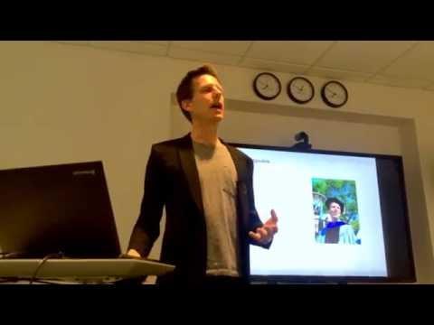 Part 1 of Joshua Spodek's Entrepreneurship Talk in Princeton