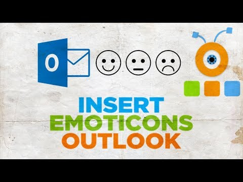 How do you put emojis in outlook email