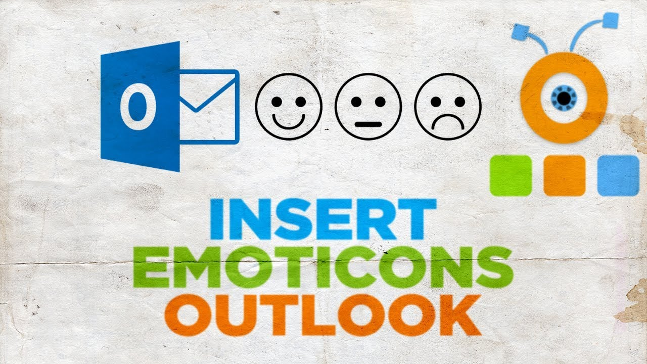 How to Insert Emoticons in Outlook | How to Add Emoticons in Outlook