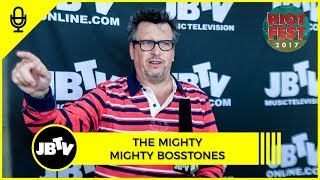 European Festivals with The Mighty Mighty Bosstones   JBTV Interview @ Riot Fest 2017