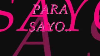 Para Sayo  Freestyle