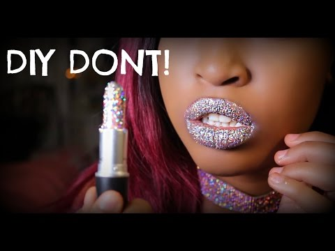 Thumbnail: DONT DIY | MAC Glitter Lipstick + Glitter Lips