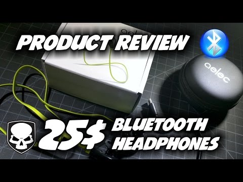 25$ Bluetooth Headphones? Honest Product Review - Aelec S350