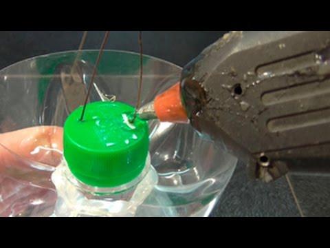 видео: плазменный светильник из пластиковой бутылки