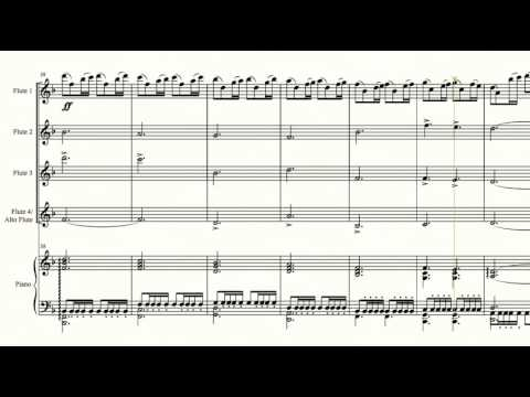 Game Of Thrones - Arranged For Four Flutes And Piano