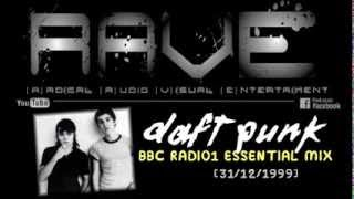 "DAFT PUNK LIVE ""NEW YEARS EVE"" ESSENTIAL SELECTION @ BBC RADIO1 [31/12/1999] HQ"
