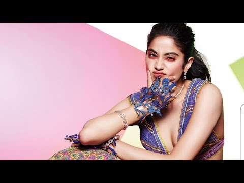 Janhvi Kapoor, glamorous as ever, appeared on the cover of Brides Mp3