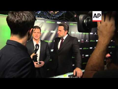 "Ben Affleck and Matt Damon talk Batman, Bourne and LaBeouf at ""Project Greenlight"" event"