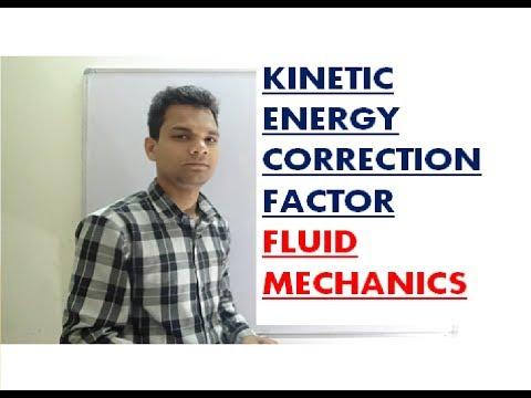 Kinetic energy correction factor / correction factor