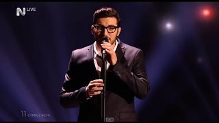Eurovision 2015 Cyprus Final Giannis Karagiannis - One Thing I Should Have Done