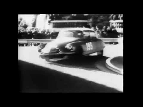 Vintage Monaco Racing Film Footage