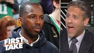 The NCAA is 'hypocritical and absurd' for applying new 'Rich Paul Rule' - Max Kellerman | First Take