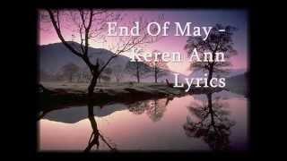 End Of May - Keren Ann Lyrics