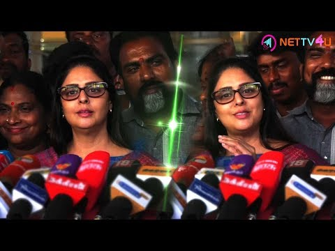 BJP Is EPS & OPS | Selling Pakkoda Is Good | BJP Government | Rajinikanth | Nagma Speech