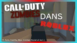 CoD Zombies + Lego =..? [ROBLOX] ft. peruchor, Kyra's GLMV, Cam Gamer et MissTirufa Gacha