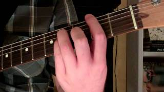 How To Play the F#sus4 Chord On Guitar (F sharp suspended fourth) 4th