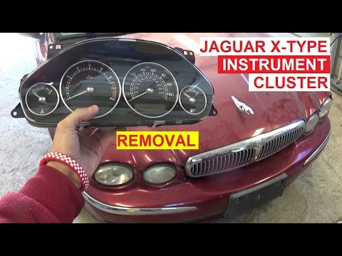 Jaguar X-TYPE Instrument Cluster Removal and Replacement  Dash Gauges Replacement