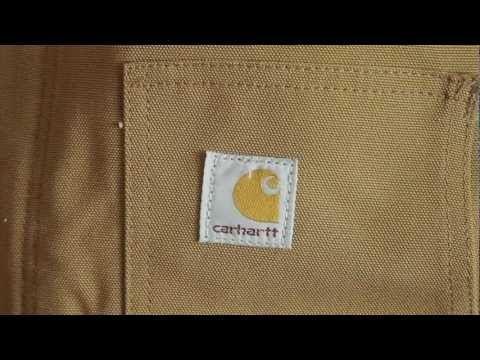 J002 Carhartt Duck Traditional Jacket - Arctic-Quilt Lined