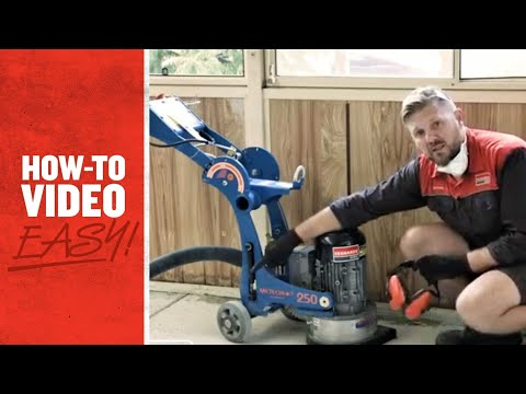 Kennards Hire - How To Operate A Concrete Grinder