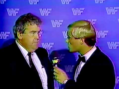 Demanding Justice For Paul Heenan >> Bobby Heenan Confronts Jack Tunney About The Machines Youtube
