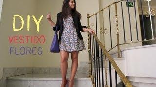 DIY Ropa: Cómo hacer vestido de flores (patrón incluido) thumbnail