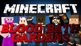 BRAND NEW Minecraft Blood Bath Garden Minigame w/ Ssundee, SetoSorcerer and Friends!
