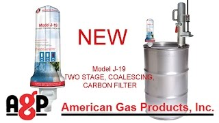 J-19 Aerosol Can Filter from American Gas Products.