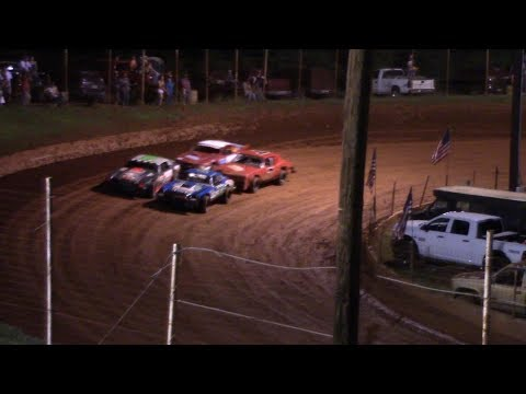 Winder Barrow Speedway Stock Eight Cylinders Feature Race 8/24/19