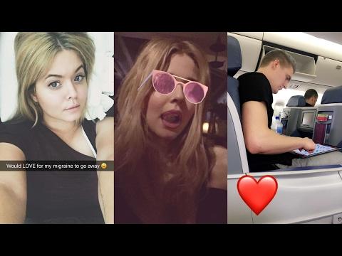Sasha Pieterse  Snapchat Videos ft. Hudson Sheaffer  Ireland Adventures