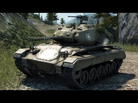 World of Tanks M24 Chaffee - 8 Kills 4,2K Damage
