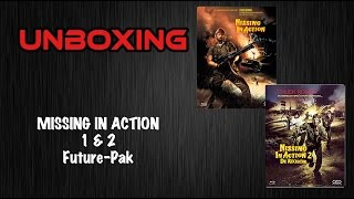 Missing in Action 1 und 2 Future-Pak Unboxing