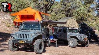 5 Jeep Wrangler Overland Camp Setups