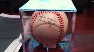 For Sale Signed Baseball By Mickey Mantle,Hank Aaron,Willie Mays,Willie Mccovey & Frank Robison.