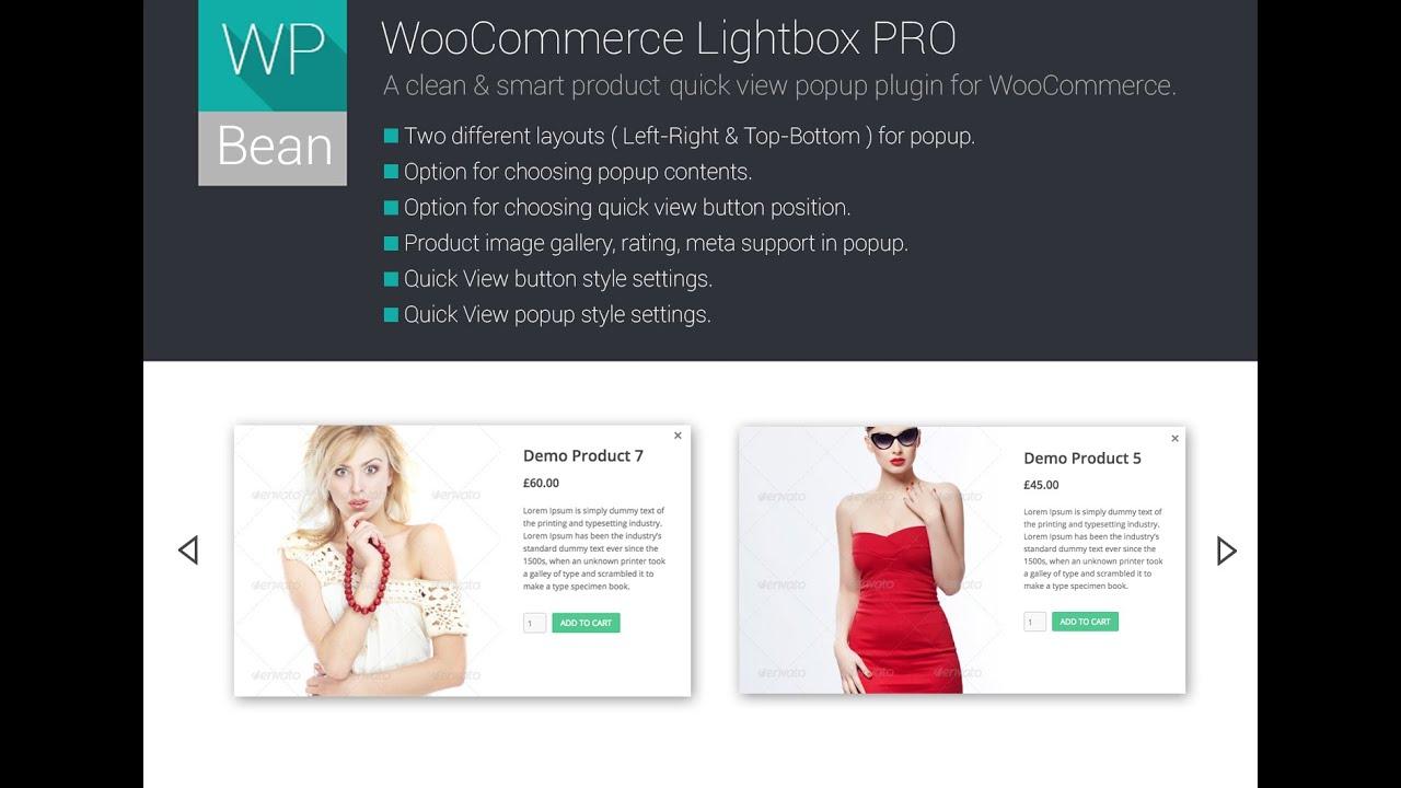 WooCommerce LightBox – WordPress plugin | WordPress org