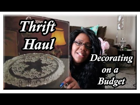 Thrift Haul || Decorating on a Budget 🏡 Goodwill and more