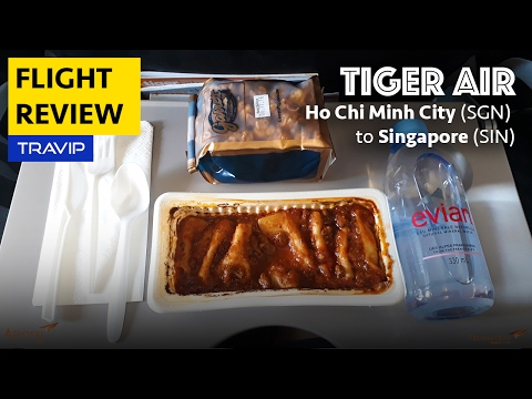 Tiger Air Experience: Ho Chi Minh City to Singapore