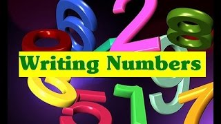 How to write numbers 1- 10