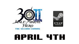 Half Minute Hero: The Second Coming on Steam April 4th