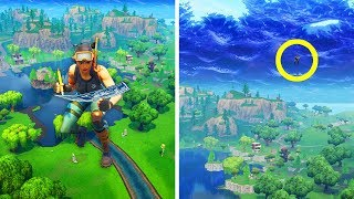 BUILDING INVISIBLE WALLS (FORTNITE TROLLING 😂)