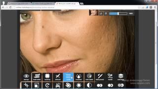 как изменить лицо и сделать пластику в онлайн фотошоп