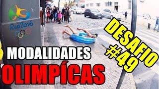 NADANDO EM PÚBLICO DESAFIO #49 (Olimpíadas 2016)