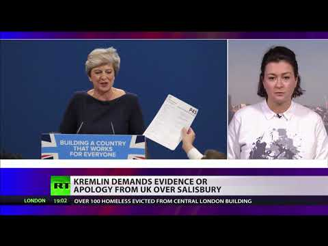 Theresa May: 'Russia had capability, motive & intent to carry out poisoning'