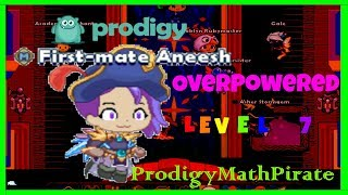 Prodigy Math Game : OVERPOWERED Level 7 V.S. Level 96 w/8th Grade Questions (GONE WRONG)