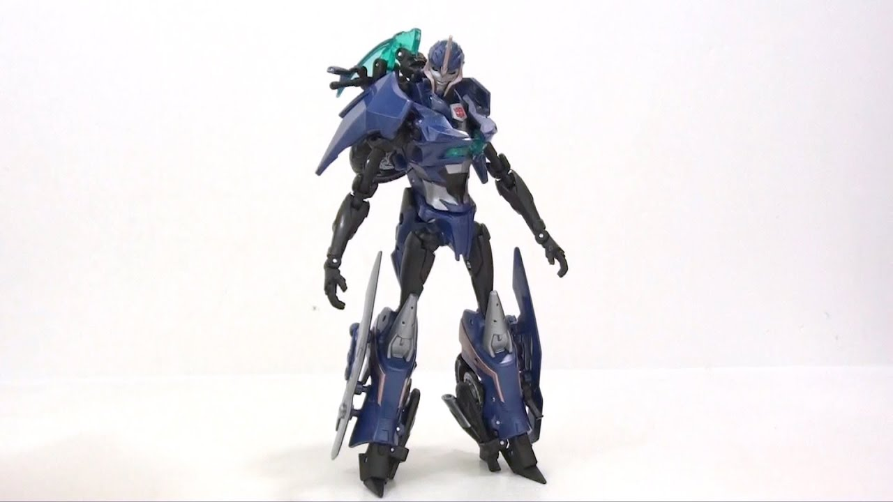 Video Review of the Transformers Prime Deluxe Class