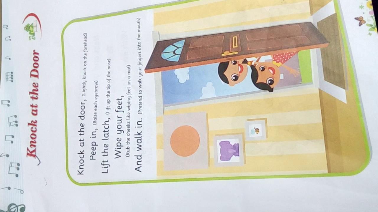 Knock at the door..rhyme & Knock at the door..rhyme - YouTube
