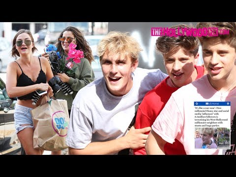 Jake Paul Responds To Daily Mail & KTLA 5 Claiming Team 10 Is Terrorizing West Hollywood 7.18.17