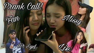 Prank Call ft. Lie,Missy and More!    Karina Bautista