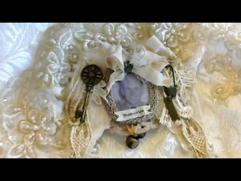 Shabby Christmas Memory Ornaments